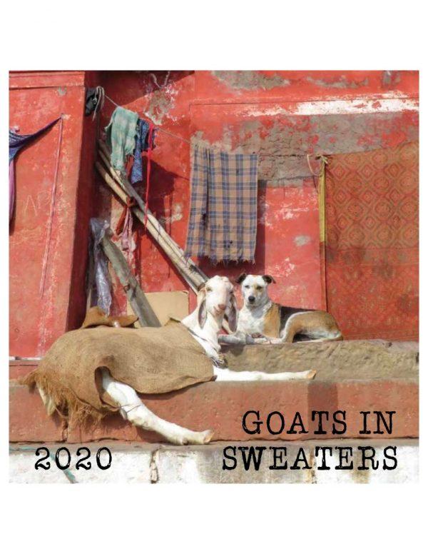 sweatered goats calendar